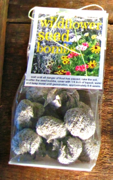 seed bombs by oliveloaf design